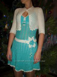 Летние платья, сарафаны. Вязание под заказ.