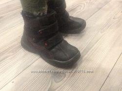 зимние ботиночки 17, 5-18 по стельке