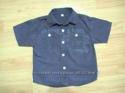 Рубашка для стильного мальчика р. 86