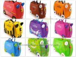 Английские чемоданчики детские на колесиках, рюкзачки и сумки.
