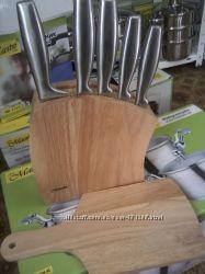 Набор ножей 7 предметов   MR 1411  Цена снижена