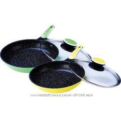 Сковородка с анти пригарным покрытием MR1220-24