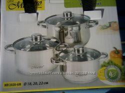 Набор посуды MR 2020-6XL Цена снижена