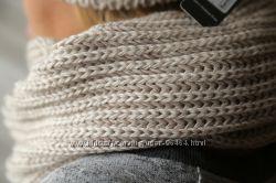 Объёмные шарфы-хомуты для стильных