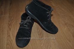Замшевые ботиночки ECCO р. 34