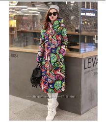 Зимние стильные пальто - много расцветок - L-4XL под заказ