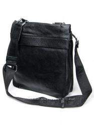 Кожаная мужская сумка отличного качества