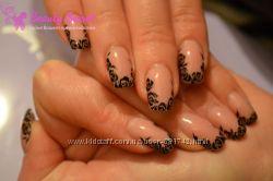 Наращивание и коррекция акриловых ногтей, Киев