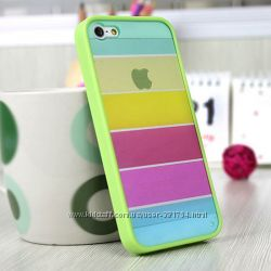 Чехлы Радуга для  iPhone 4