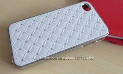 Стильный чехол со стразами на IPhone 4