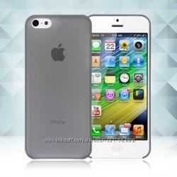 Ультратонкие полупрозрачные чехлы для Iphone 5 и 5S