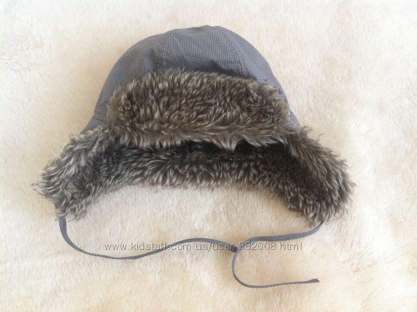 Стильна зимова шапка-ушанка H&M