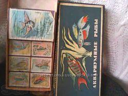 Спички коллекционные. Набор спичечных коробок Аквариумные рыбки 1966г