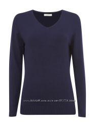 JakeS Вязаный пуловер с V-образным вырезом