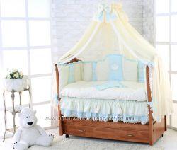 Комплект в кроватку  Компания Greta Lux серия Элит