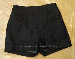 шорты на высокой талии размер 10