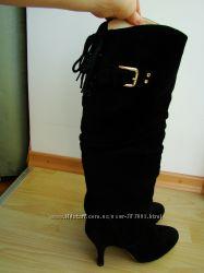Женственные сапоги Chloe, 24 см