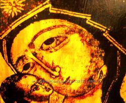 Игоревская икона на золоте Божией Матери
