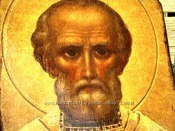 Икона Св. Николай Чудотворец деревянньіе иконьі