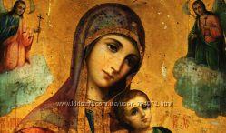 Страстная Икона Пресвятой Богородицьі, деревяньіе иконьі