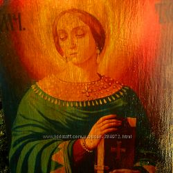 Икона Св. Анастасии, под старину, именная икона