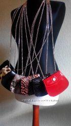 SALE Кожаная сумочка-кошелек - стильный аксессуар