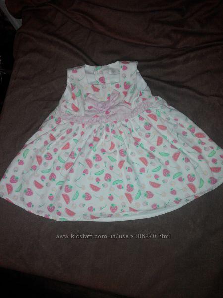 Платье на малишку 62 размер