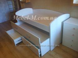 Детская двухъярусная кровать  на заказ