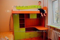 Кровать детская двухъярусная или кровать чердак на заказ