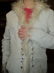 Вельветовая курточка Naf-Naf с кучеряшками