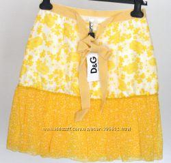 Яркая летняя юбка, шелк. D&G Dolce&Gabbana. Новая. Разм. M, IT44