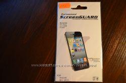 Матовые защитные пленки передзад для iPhone 4 4S