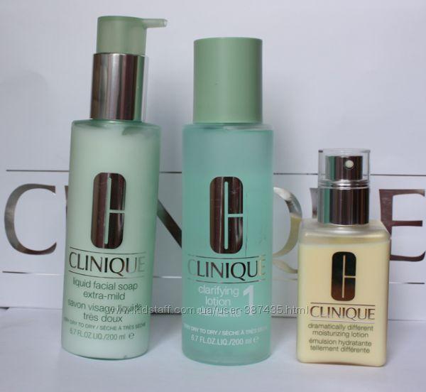 Средства CLINIQUE для сухой и чувствительной кожи лица, под заказ