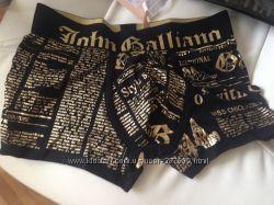 Трусы JOHN GALLIANO boxershort размер S 46-48 оригинал