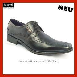 Бизнес туфли BUGATTI 43 размер Modell U1901-1 Оригинал