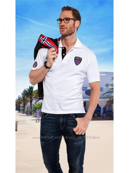 Мужская футболка тенниска поло NEBULUS POLO - SHIRT FREE  M 50,  XL 54