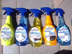Astonish Астониш экологически-чистые моющие средства