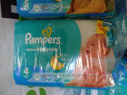 Подгузники Памперс Pampers Active Baby
