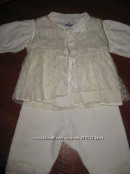 Нарядненький костюмчик для крещения или просто  для прогулок на улице.
