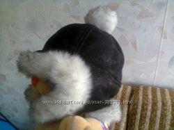 Шапка-шлем на меху