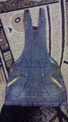 Модные джинсовые сарафанчики
