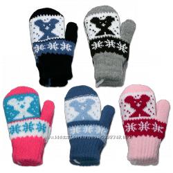 Варежки, перчатки, рукавички - с рождения до 8-ми лет Польское качество