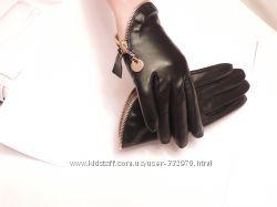 Перчатки короткие на подкладке