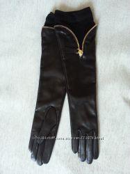 Перчатки женские выше локтя  на подкладке