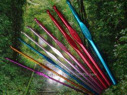 Крючки для вязания, наборы и поштучно