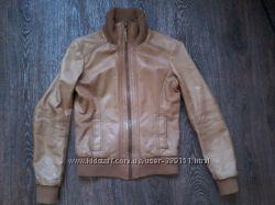 Кожаная курточка pimkie S