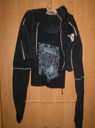 Куртка-ветровка-болеромайка,