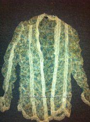 Шелковая блуза Италия бренд Rinascimento единый экземпляр