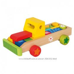 Деревянные сортеры, кубики, паровозики и машинки БИНО
