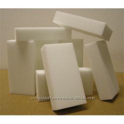 Меламиновые губки белые.